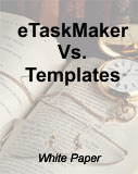 eTaskMaker Vs. Templates
