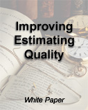 Improving Estimating Quality